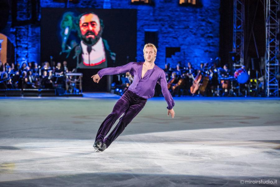 Musica, News. Tutto pronto per l'Opera On Ice con le stelle del pattinaggio mondiale. Ospiti: Elisa Balbo e i solisti della fondazione Luciano Pavarotti