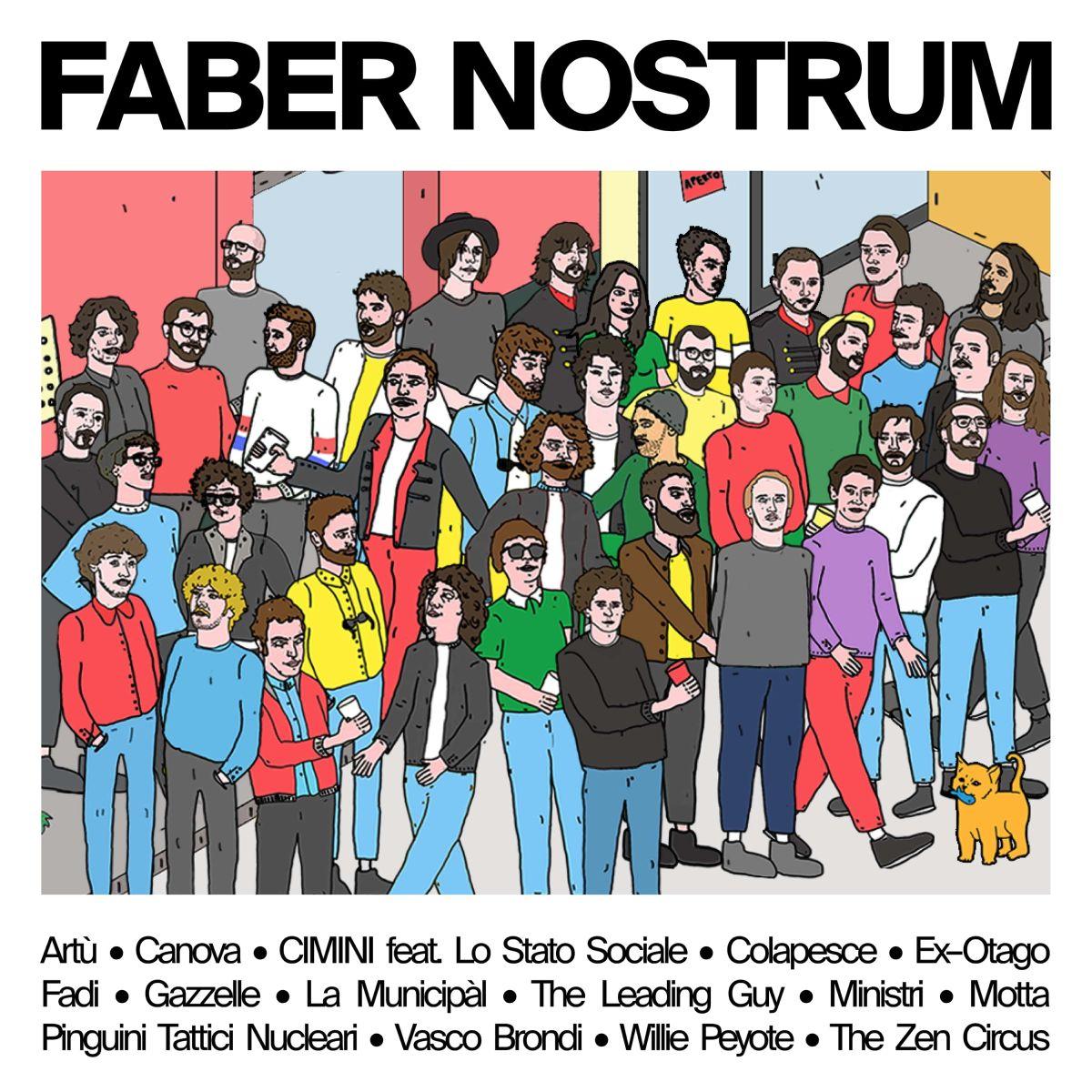 """Musica Italiana, Recensioni. """"Faber nostrum"""", il tributo della scena indie a De André che nessuno ha chiesto"""