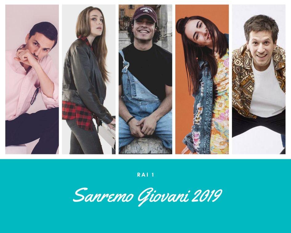 Sanremo Giovani 2019: tra i 65 cantanti a tutto talent della prima selezione anche Federica Abbate, Leo Gassman, Ainé, Shari e gli Eugenio in Via di Gioia