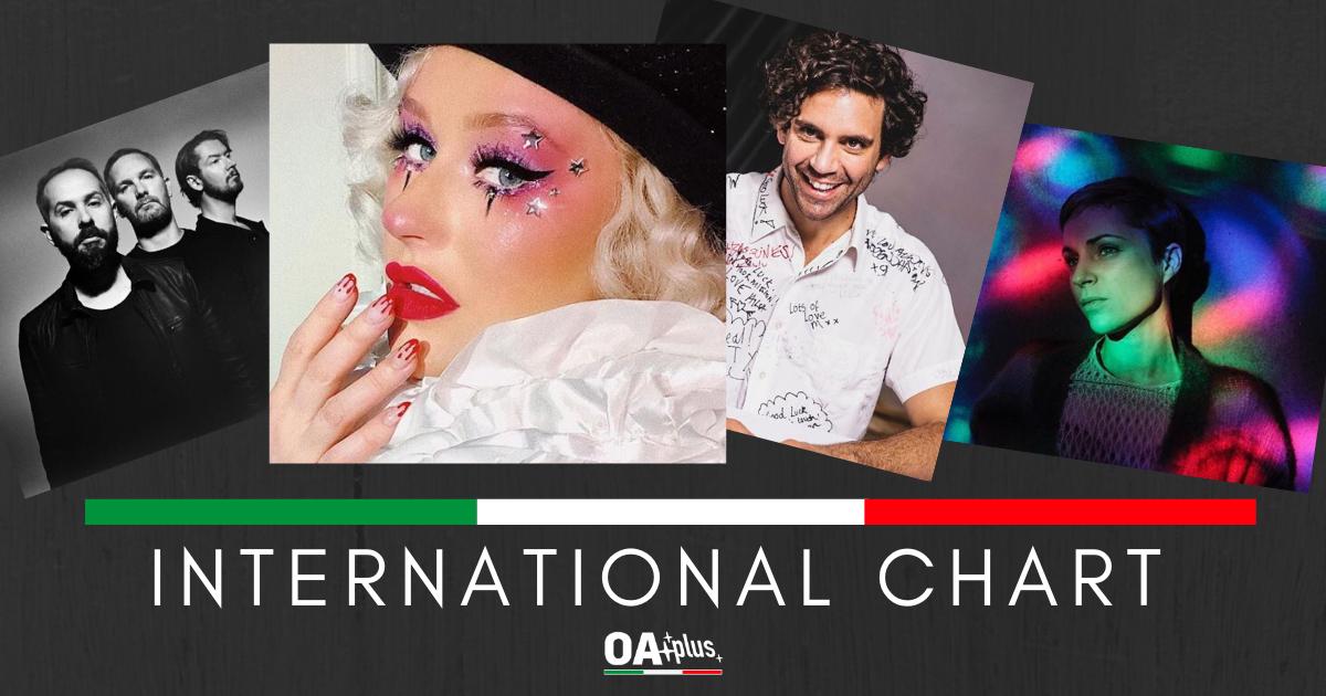 OA PLUS, INTERNATIONAL CHART (week 6 / 2019). Mika e Cigarettes After Sex spiccano il volo, ma la Queen è Christina Aguilera