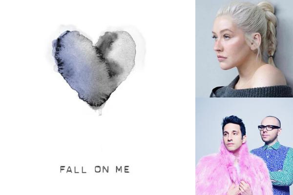 """Musica Internazionale, Nuove Uscite. Christina Aguilera canta Andrea Bocelli: ecco """"Fall On Me"""" feat. A Great Big World"""
