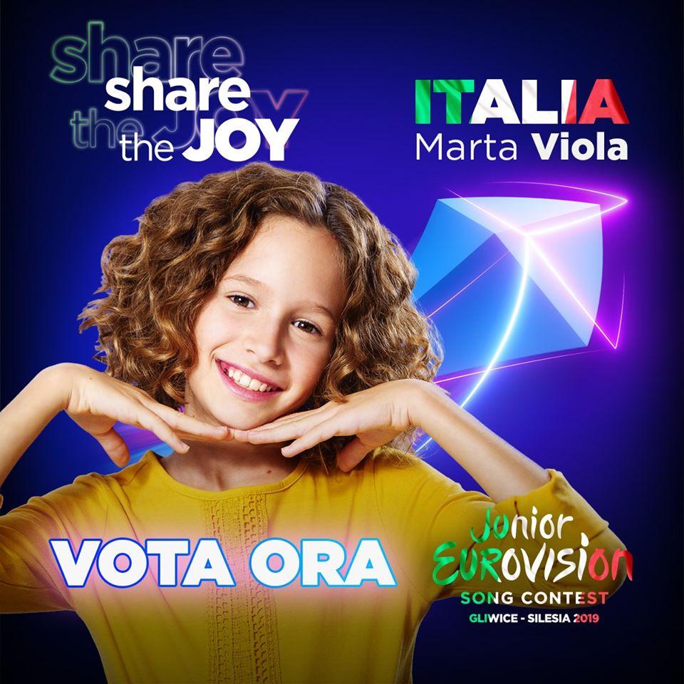 Musica, TV. Rai Gulp, Rai Play: domani la finale del Junior Eurovision Song Contest! Tutti a tifare Marta Viola