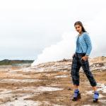 Moda, IL CAMERINO PARLANTE. L'Islanda come cornice di un autunno dai colori accesi
