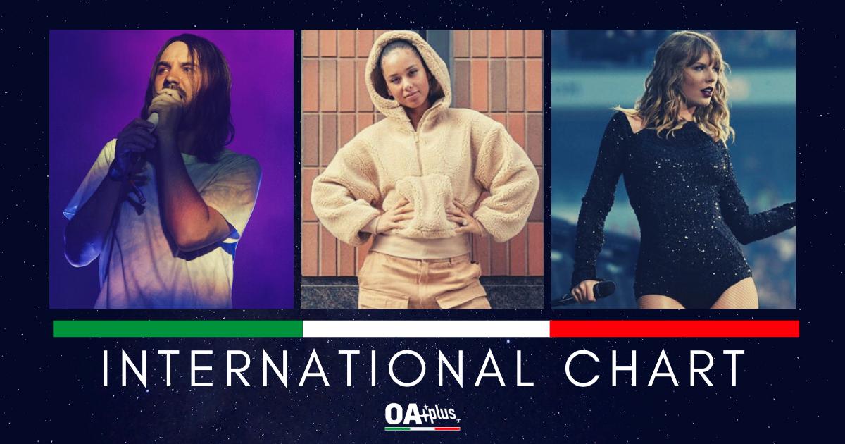 OA PLUS, Classifiche. INTERNATIONAL CHART (Week 10 / 2019): Alicia Keys torna in vetta, Taylor Swift  e Tame Impala debuttano in classifica