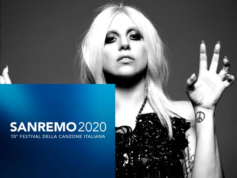 TV, Musica. Festival Di Sanremo. Dopo i problemi sollevati dal Codacons su Chiara Ferragni, in arrivo un'altra tegola: Lady Gaga non ci sarà