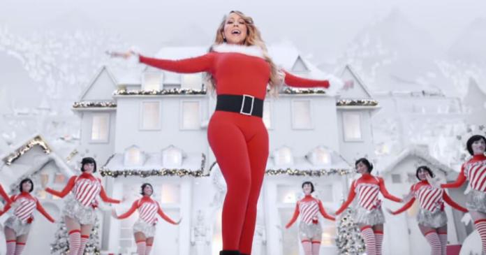 Mariah Carey prima in classifica con