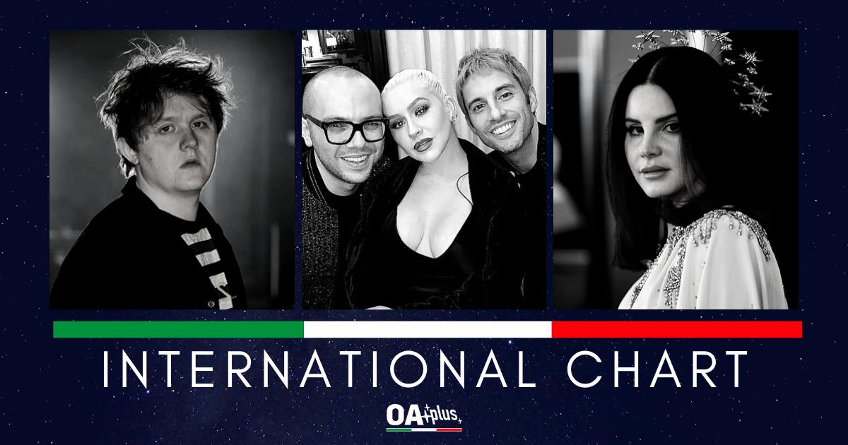 INTERNATIONAL CHART (Week 12 / 2019): A Great Big World & Christina Aguilera guadagnano la vetta. New Entry: Lana Del Rey e Lewis Capaldi