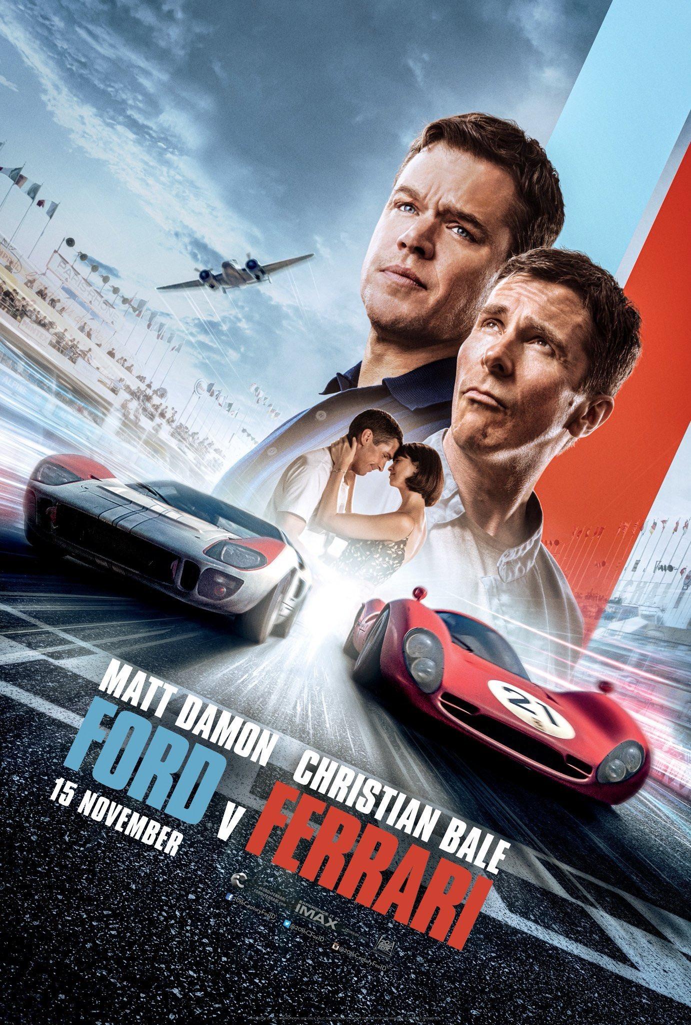 """Cinema. """"Le Mans '66 – La grande sfida"""": Matt Damon in pista contro la Ferrari"""