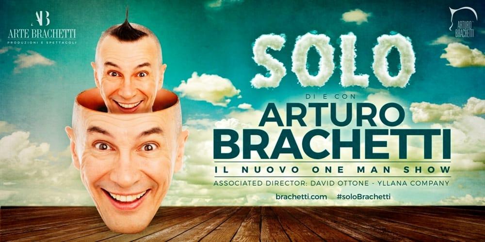 """Teatro. 90 minuti di travestimenti """"SOLO"""" con Arturo Brachetti"""