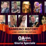 SANREMO HISTORY. Vorrei cantarti fra cent'anni: i 15 NUOVI GIURATI SPECIALI, da Antonella Arancio a Grazia Verasani