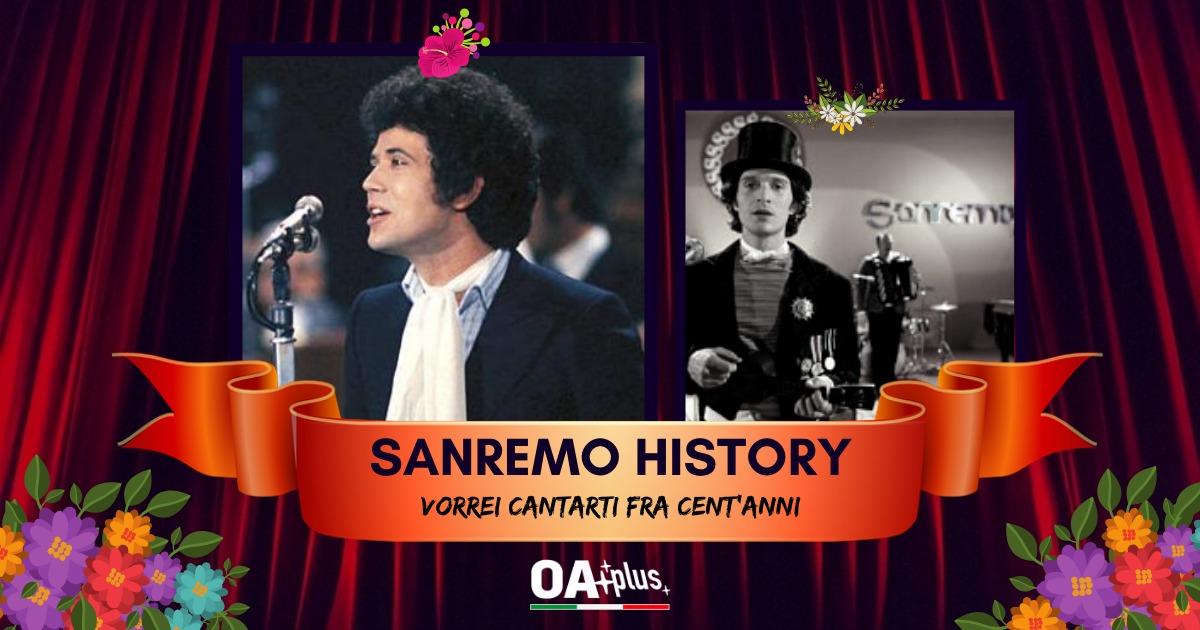 Sanremo History. Vorrei cantarti fra cent'anni: Lucio Battisti batte Rino Gaetano e accede ai sedicesimi di finale