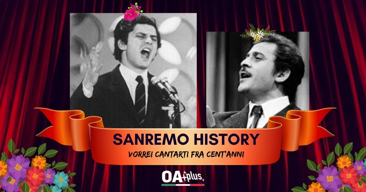 Sanremo History. Vorrei cantarti fra cent'anni: Luigi Tenco vince la sfida contro Domenico Modugno e accede ai 16mi di finale