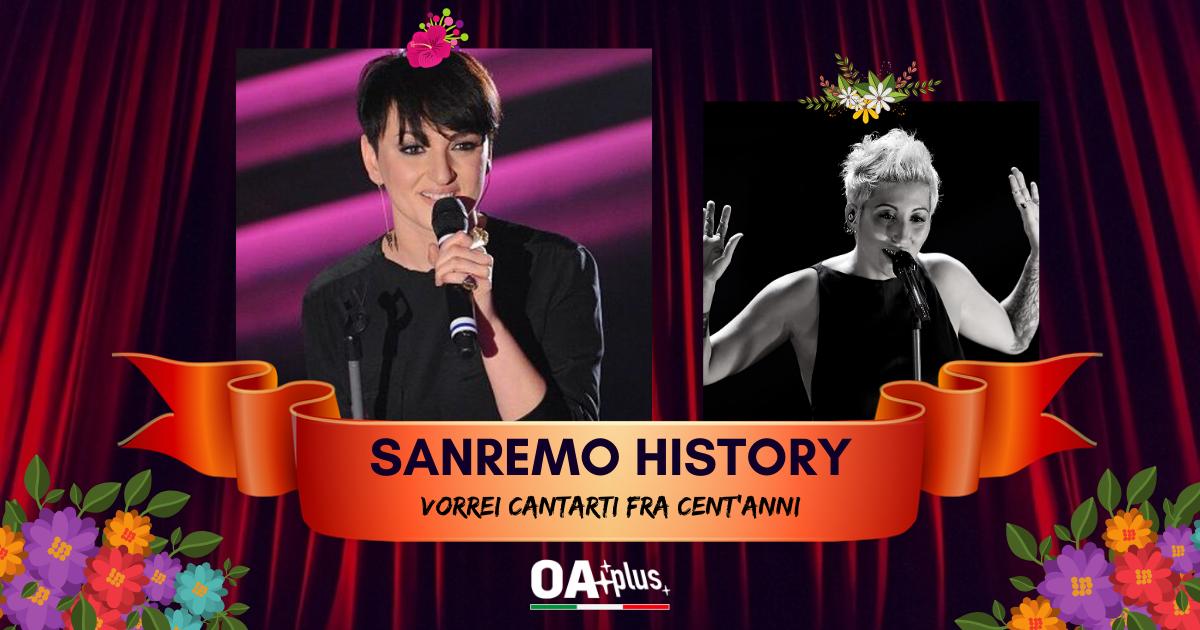 """Sanremo History. Vorrei cantarti fra cent'anni: Arisa vince la sfida contro Malika Ayane e con """"La Notte"""" vola ai 16mi!"""