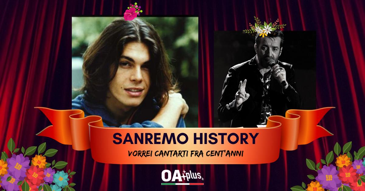 """Sanremo History. Vorrei cantarti fra cent'anni: Gianluca Grignani vola alto con """"Destinazione Paradiso"""" e batte Daniele Silvestri accedendo ai 16mi. Ecco le sfide di domani"""