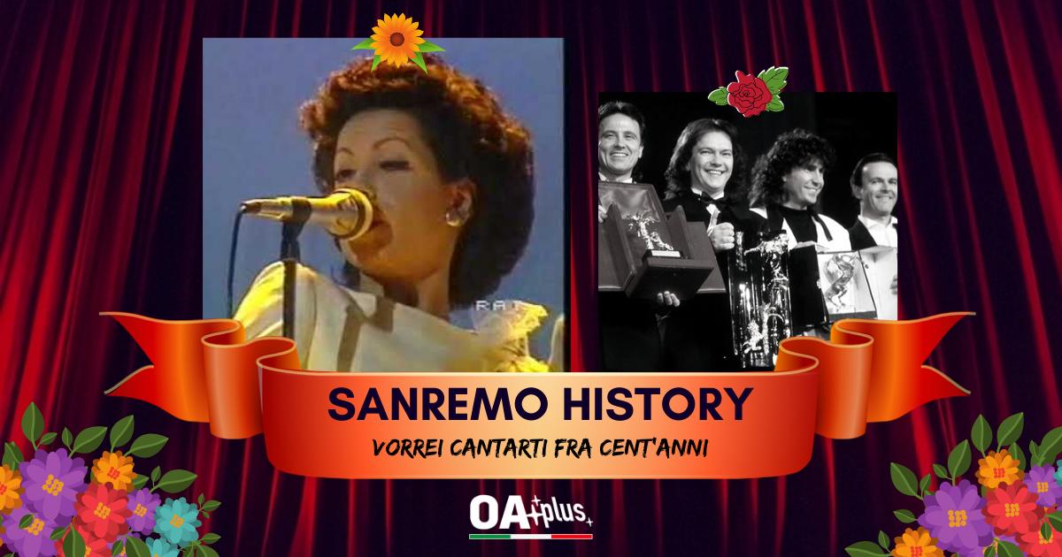 Sanremo History. Vorrei cantarti fra cent'anni: i Matia Bazar stracciano i Pooh e passano agli ottavi. Ecco le sfide di domani