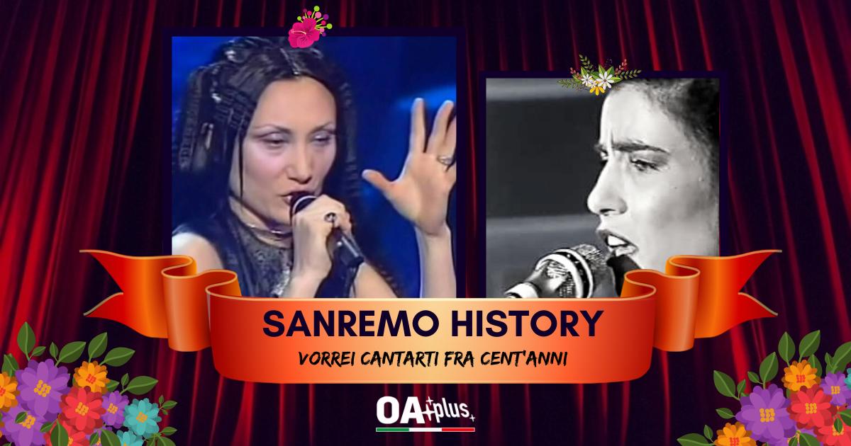 Sanremo History. Vorrei cantarti fra cent'anni: Scontro tra cantautrici romane. Marina Rei batte Paola Turci e va ai 16mi