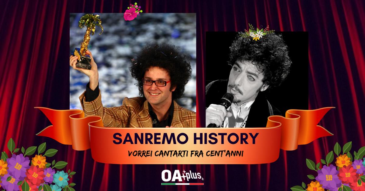 """Sanremo History. Vorrei cantarti fra cent'anni: Simone Cristicchi batte Max Gazzè e vince ancora.""""Ti regalerò una rosa"""" ai 16mi! Ecco le sfide di domani"""
