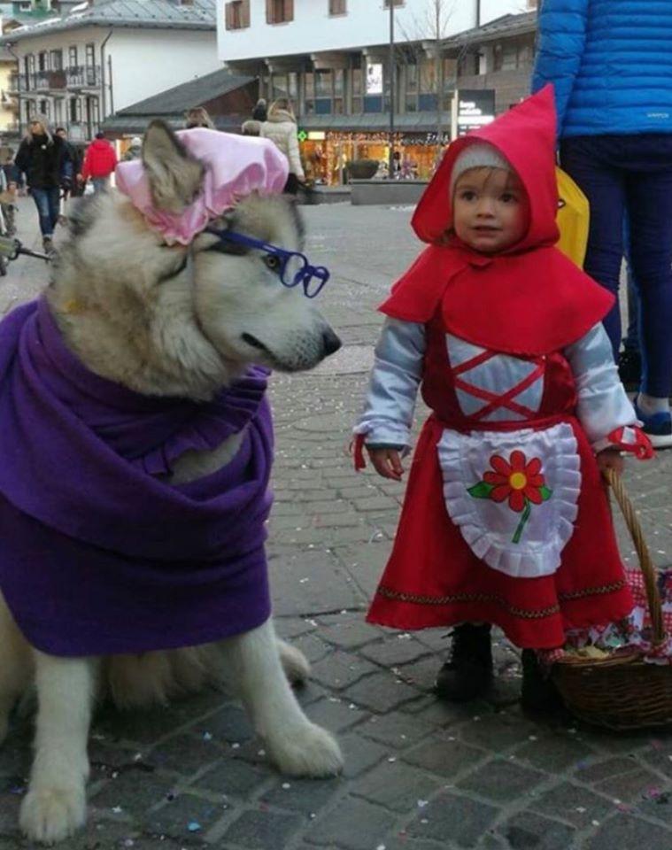 Il Coronavirus blocca i festeggiamenti del Martedì Grasso a Cortina, ma Agata e Yanuk sono i vincitori morali del Carnevale