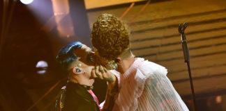ACHILLE LAURO e BOSS DOMS - Bacio gay a Sanremo 2020
