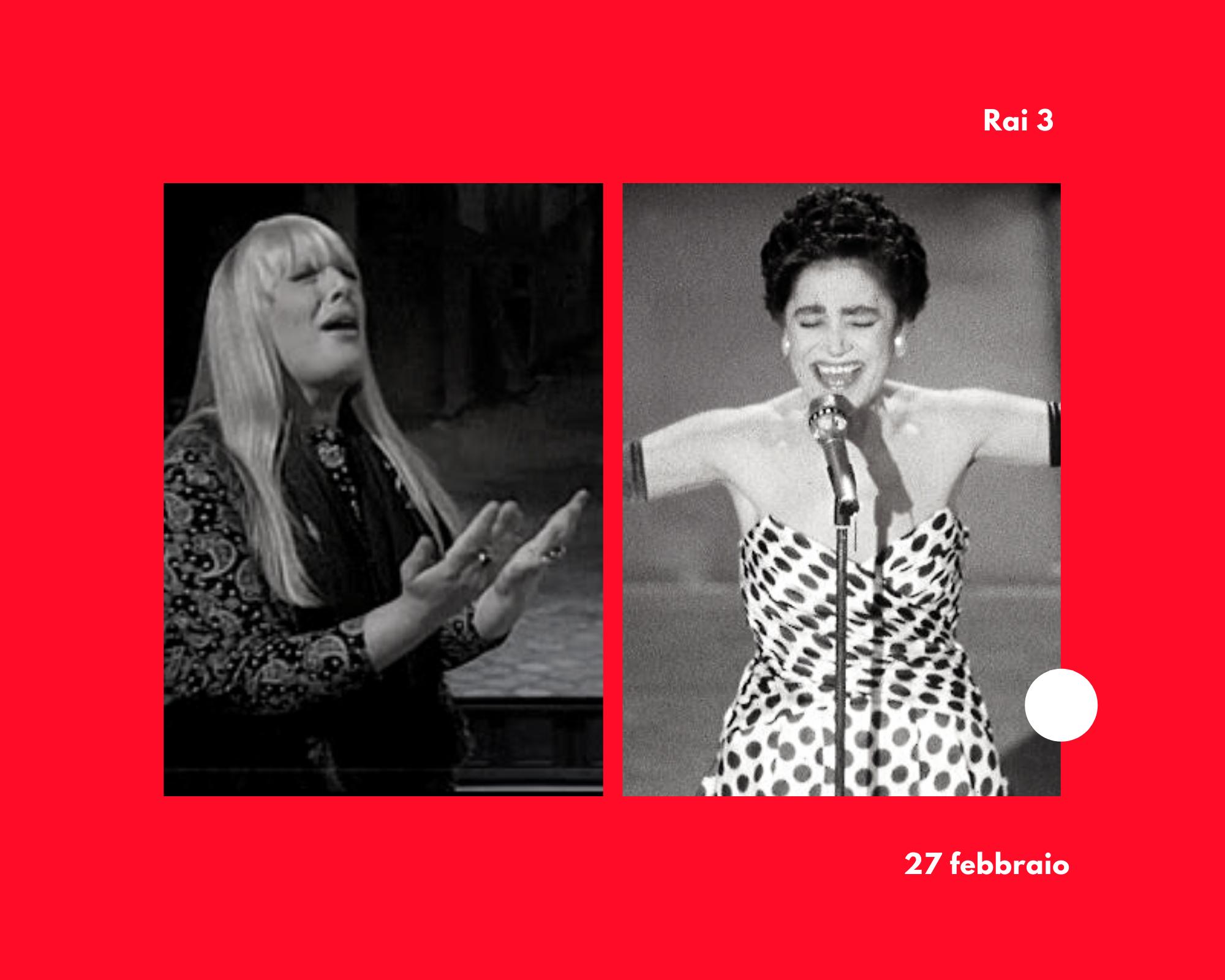 Un inedito di Mia Martini e il diario segreto di Gabriella Ferri: questa sera in anteprima su Rai 3