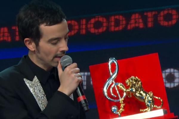 """TV, Sanremo 2020. Il vincitore Diodato sul premio dell critica: """"Mia Martini è una delle artiste che ho amato di più, lo dedico a lei"""""""