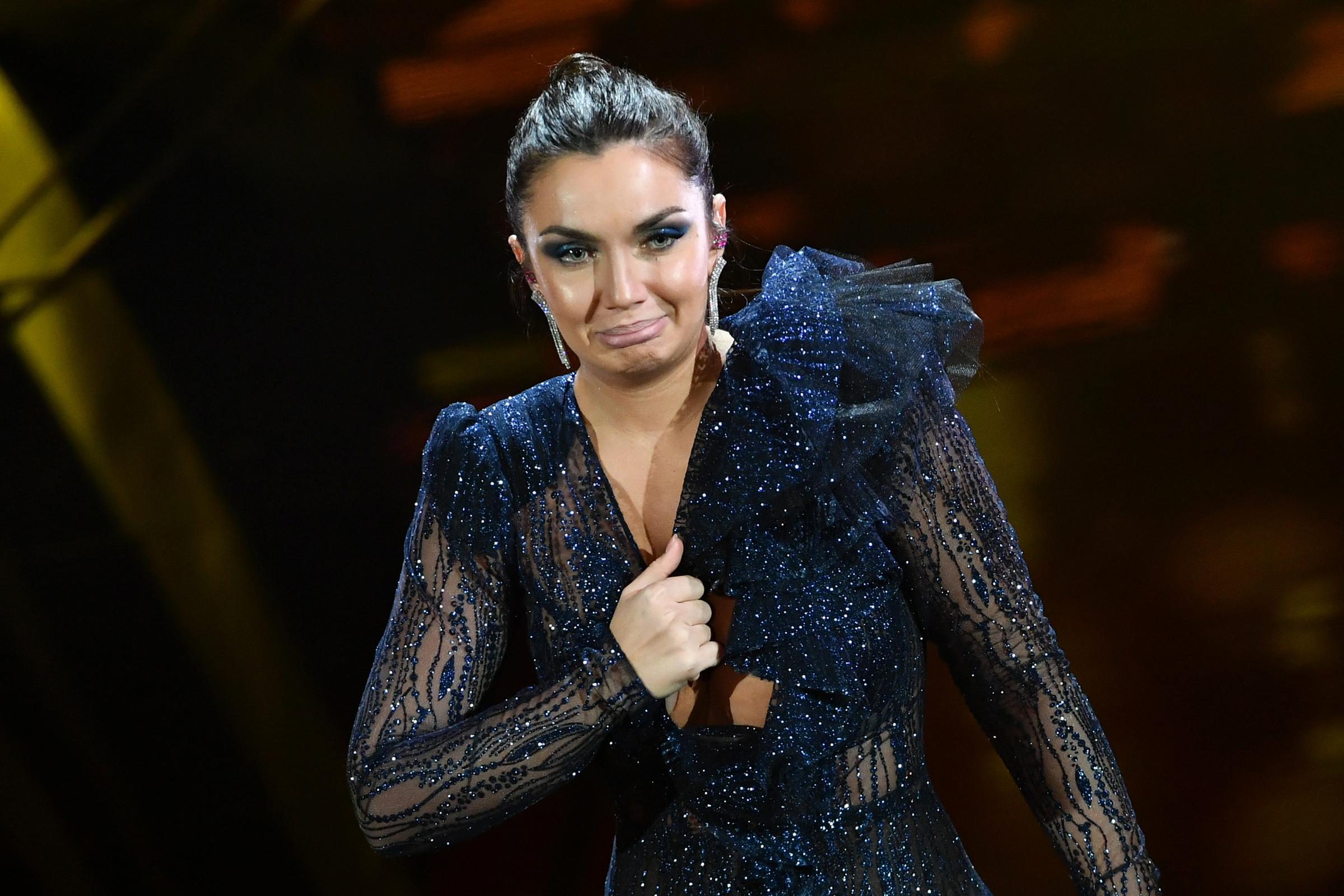 Gossip, Sanremo 2020. Gli incidenti hot di Elettra Lamborghini