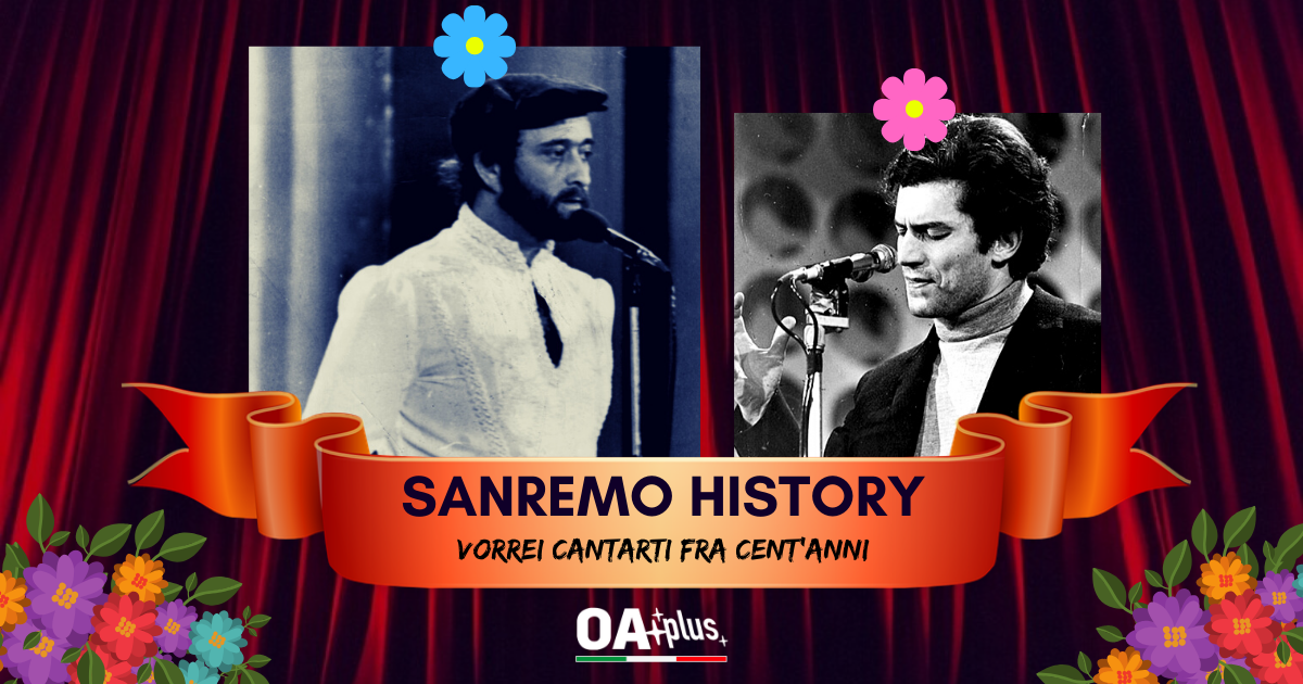 """Sanremo History. Vorrei cantarti fra cent'anni: """"Piazza grande"""" trionfa. Lucio Dalla ai quarti, Luigi Tenco esce dalla gara. Le sfide di domani"""