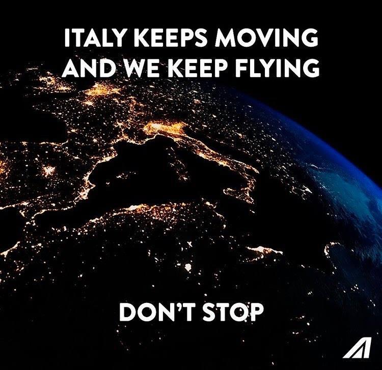 Alitalia: il nuovo spot contro la paura da coronavirus