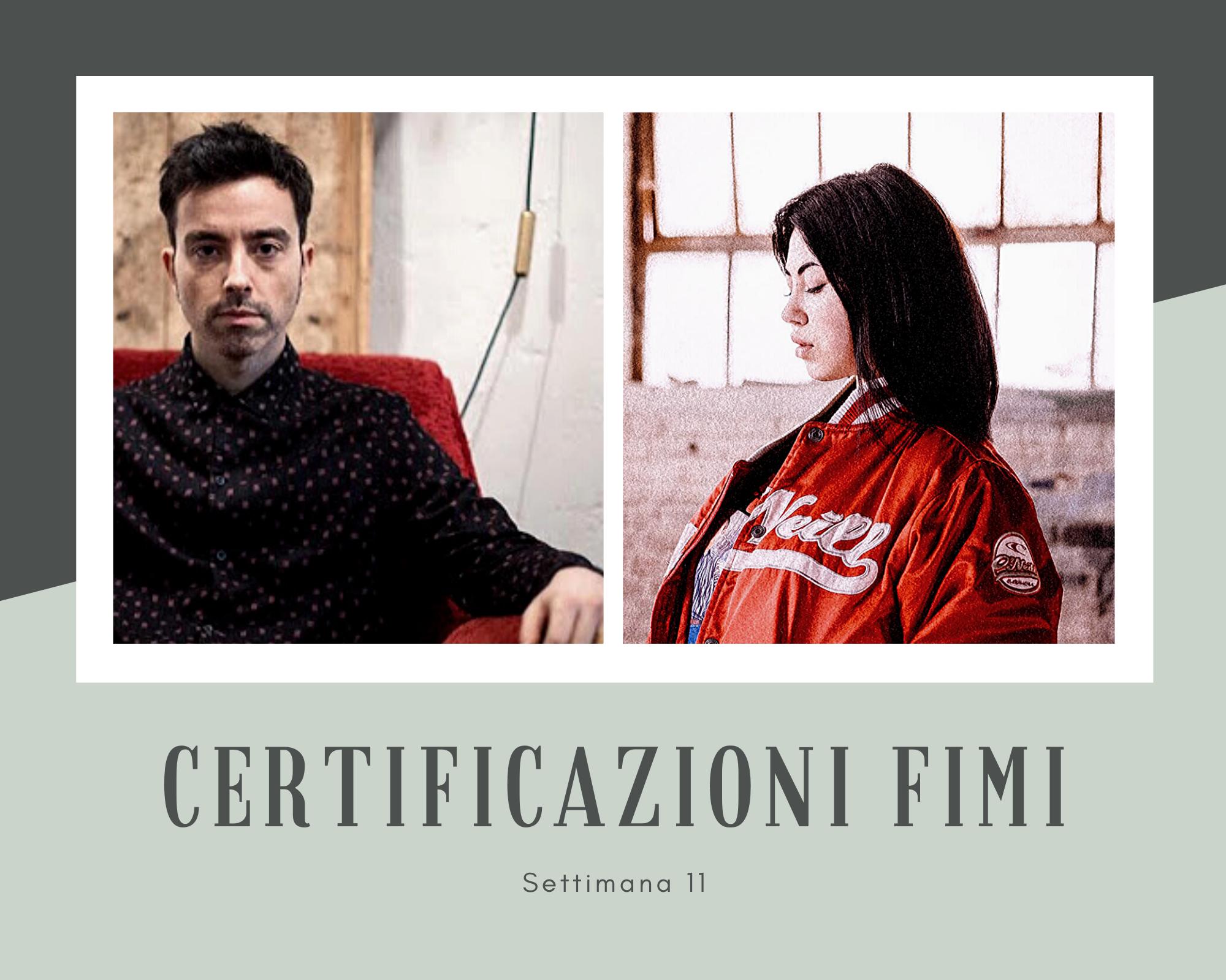 Certificazioni FIMI della settimana: per Diodato primo platino sanremese, per la rivelazione Anna primo oro
