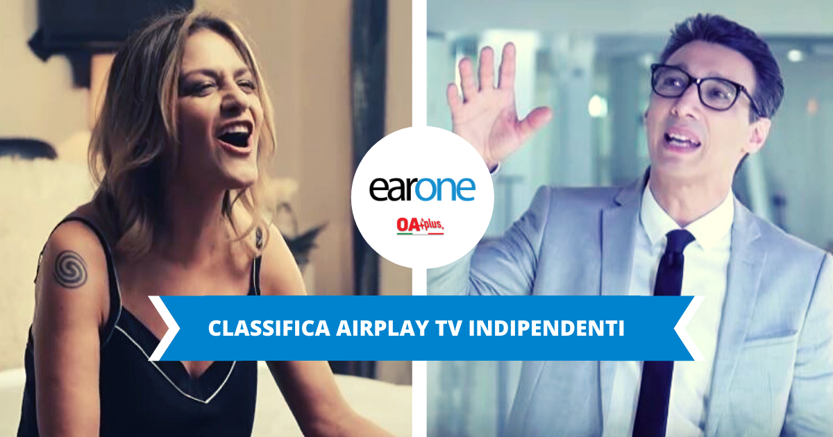 Classifica Indipendenti Airplay TV, settimana 10 del 2020: Irene Grandi in salita, Paolo Jannacci new entry