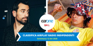 classifica settimana 12 radio indipendenti earone