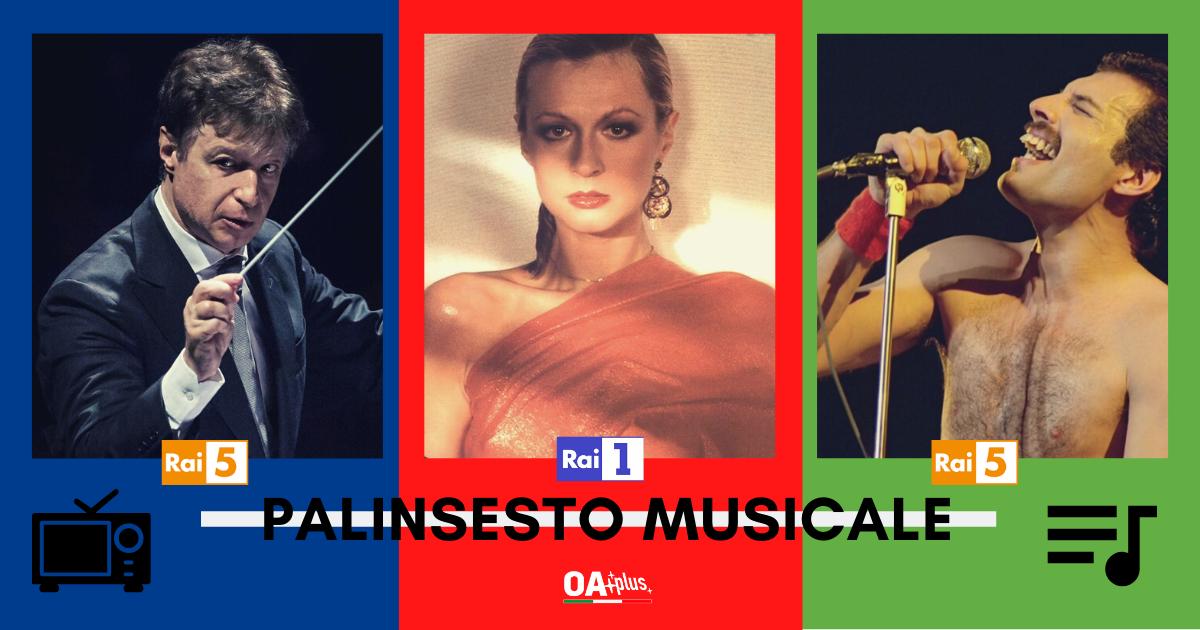 Rubrica, PALINSESTO MUSICALE. Da Loretta Goggi a Sergej Rachmaninov, passando per Freddie Mercury