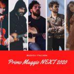 PRIMO MAGGIO NEXT 2020 - CONCERTONE ROMA