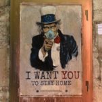 Coronavirus, #iorestoacasa: lo street artist TvBoy lo dice con un murales