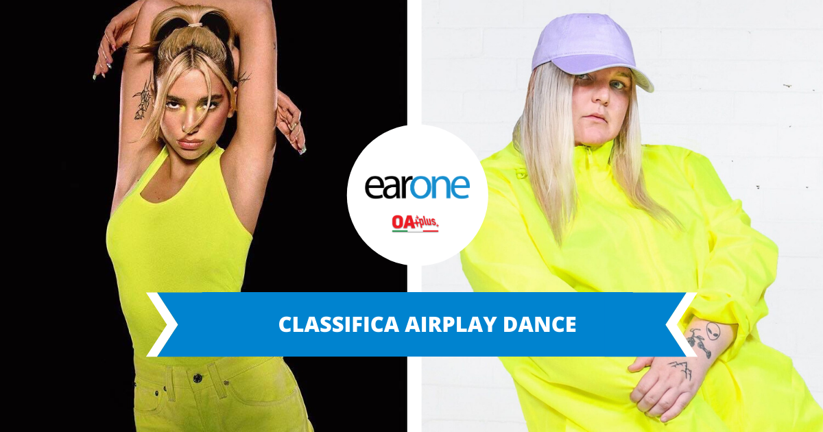 """Classifica dance EarOne: Goldstone e Dua Lipa ancora in testa. """"Dance Mokey"""" inarrestabile"""