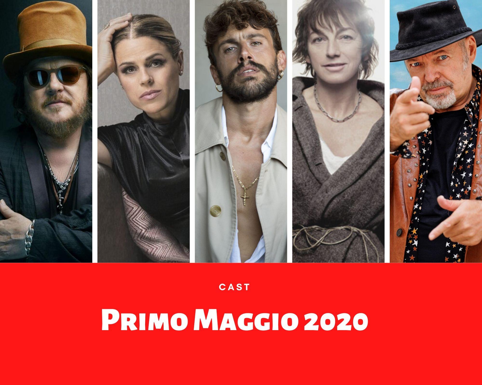 Primo Maggio 2020, un'edizione straordinaria con Aiello. Ecco tutti i nomi!