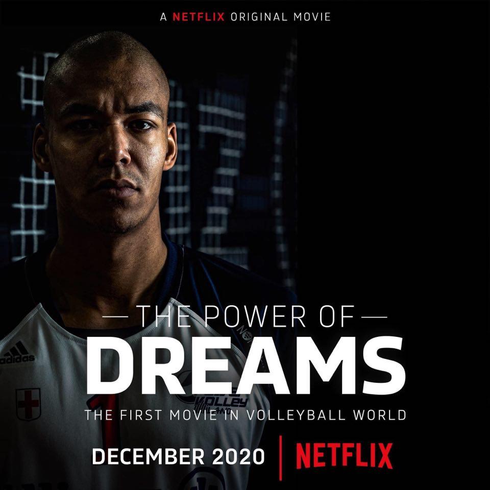 Arriva a Dicembre su Netflix il primo film sul Volley
