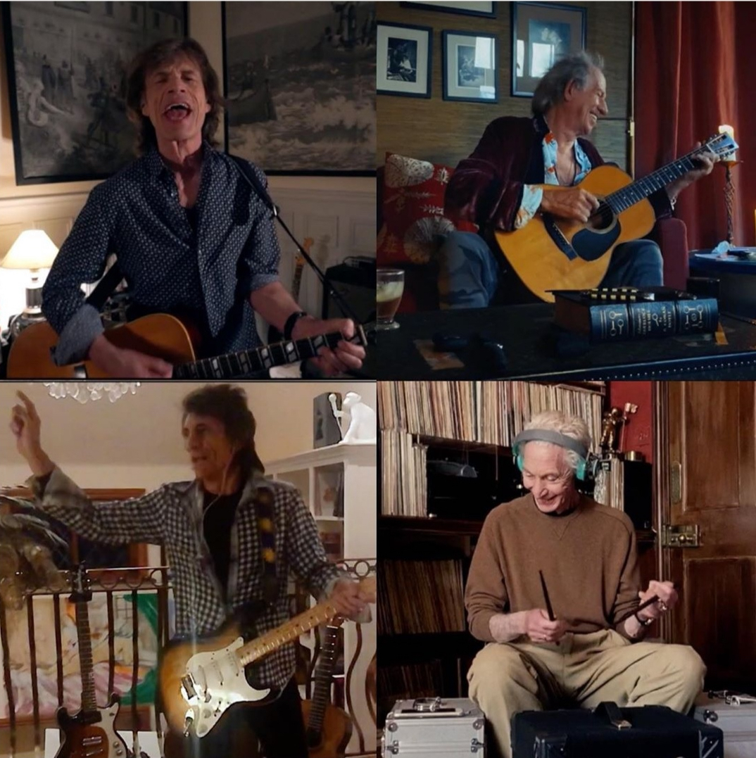 """I Rolling Stones suonano """"You can't always get what you want"""" al One World: Together at Home, ma guardate cosa fa il batterista… (VIDEO)"""