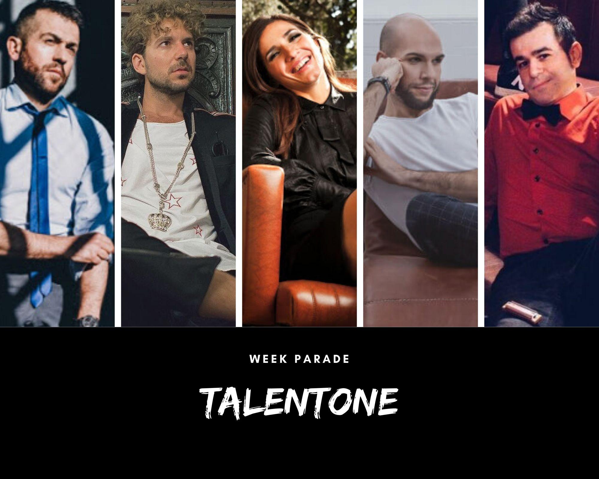 Rubrica, TALENTONE. March., Marco Gray, The Shaking Apes, Simona Bencini e Filippo Perbellini