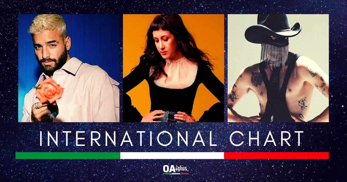 OA PLUS INTERNATIONAL CHART (Week 12 / 2020): Orville Peck conquista il podio. Vanessa Carlton e Maluma New Entry