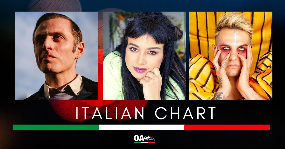 OA PLUS ITALIAN CHART (Week 12 / 2020): Dolcenera, 4ª settimana consecutiva in Top 10. Ghemon torna sul podio. Achille Lauro New Enrty