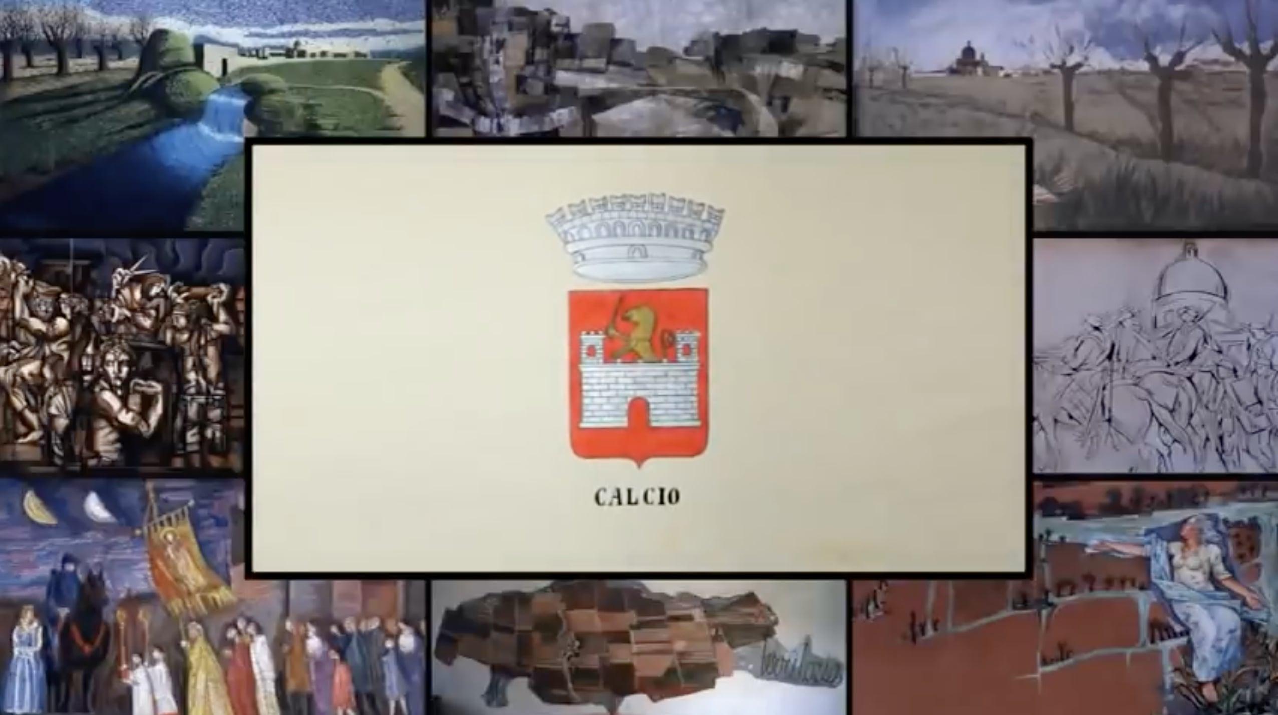 """Calcio, il paese """"dipinto"""" in provincia di Bergamo"""