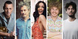 CONCERTONE ROMANO PRIMO MAGGIO 2020 - RAI TRE - ALEX BRITTI, NICCOLò FABI - AMBRA - LODO GUENZI - FABRIZIO MORO