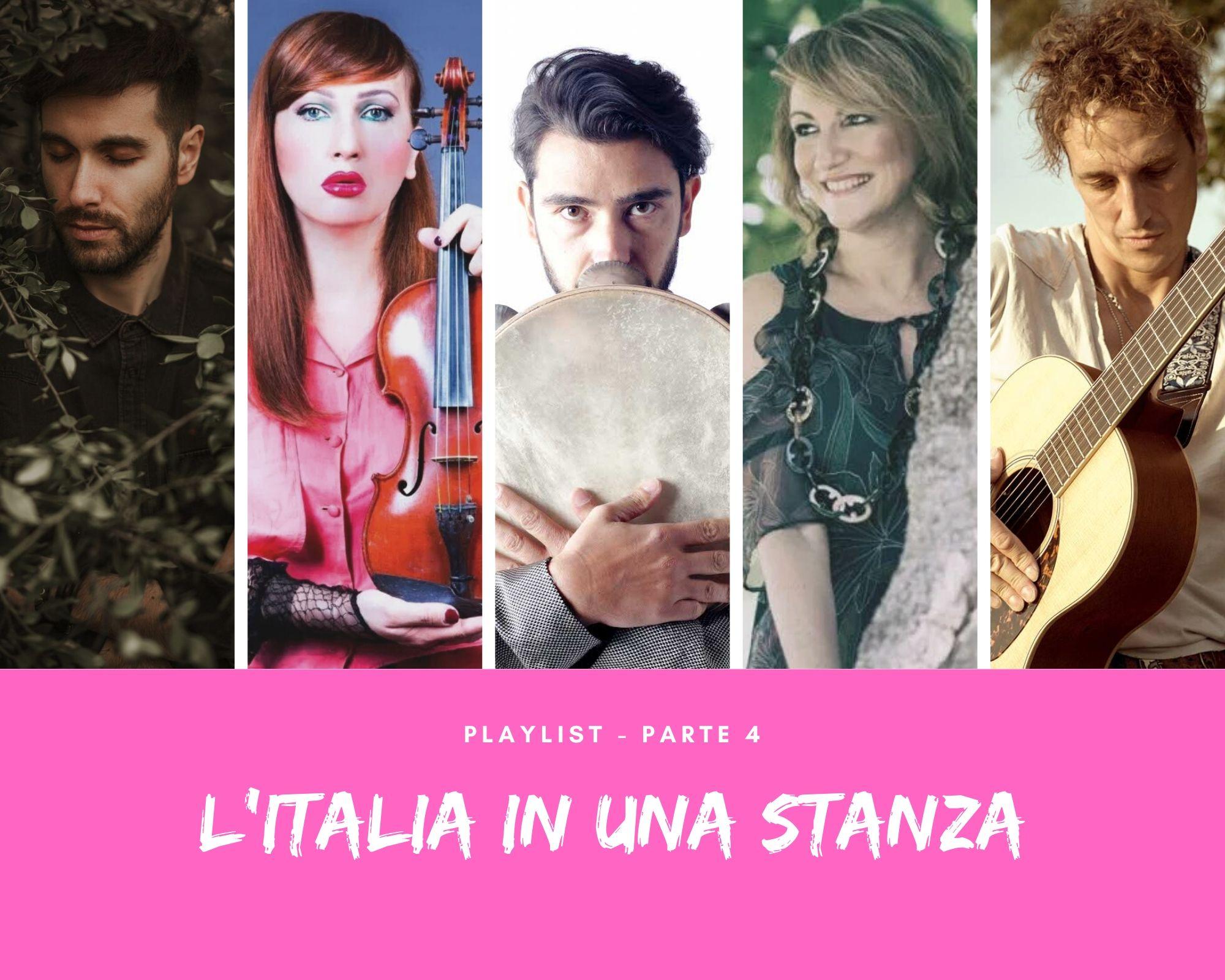 L'Italia in una stanza. Ecco la playlist 'Parte 4', tra jazz, swing e world music