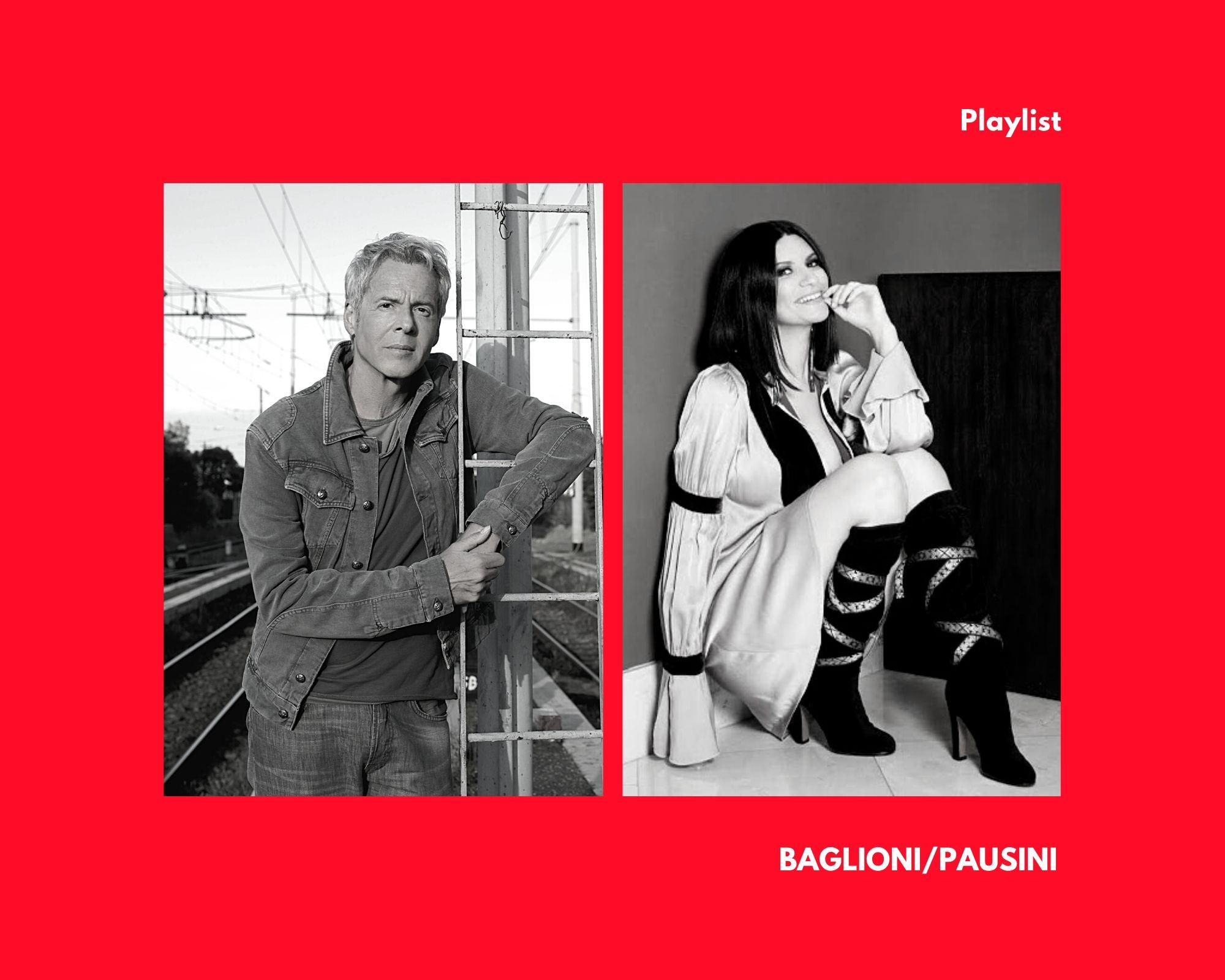 Laura Pausini e Claudio Baglioni, uniti dal giorno di nascita e da una playlist