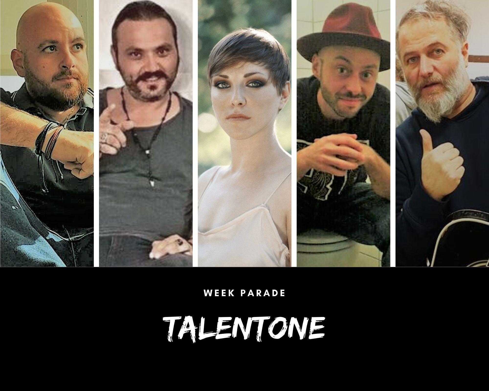 Rubrica, TALENTONE. Loredana Errore, Paolo Sessa, Federico Aicardi, Danilo Rusciano e i Magenta#9