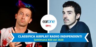 earone airplay radio indipendenti: Canzone sbagliata sul podio, Fai rumore stabile