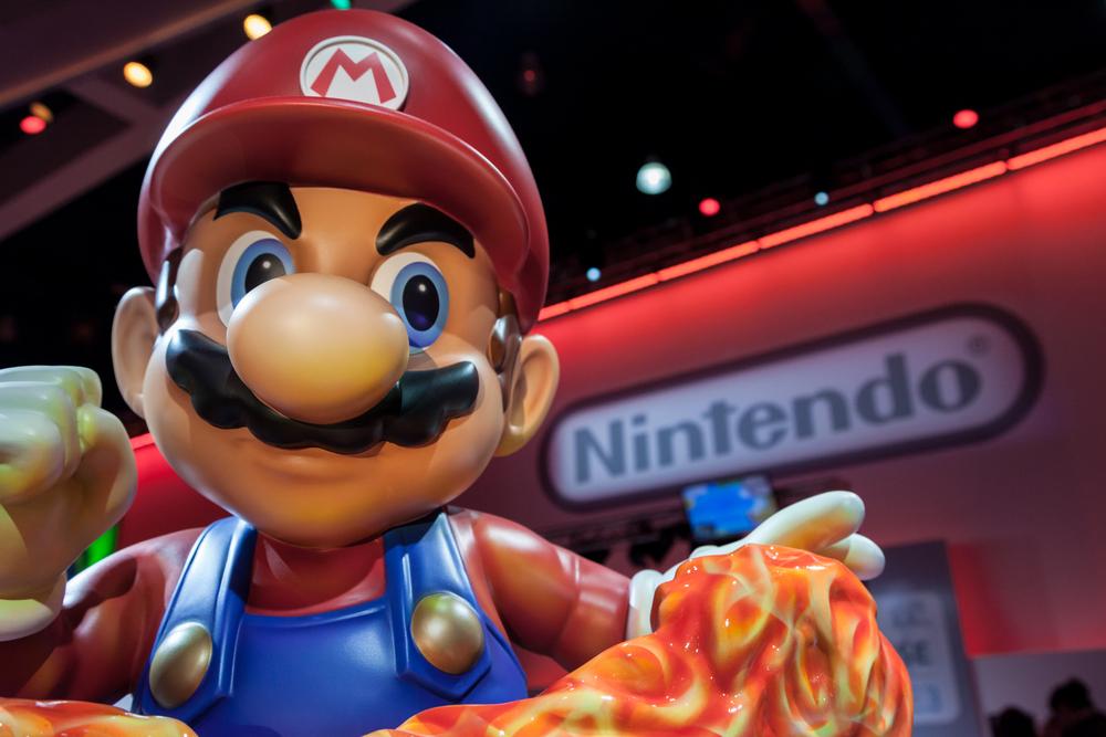 Super Nintendo World, una foto aerea mostra il parco divertimenti dedicato a Super Mario Bros