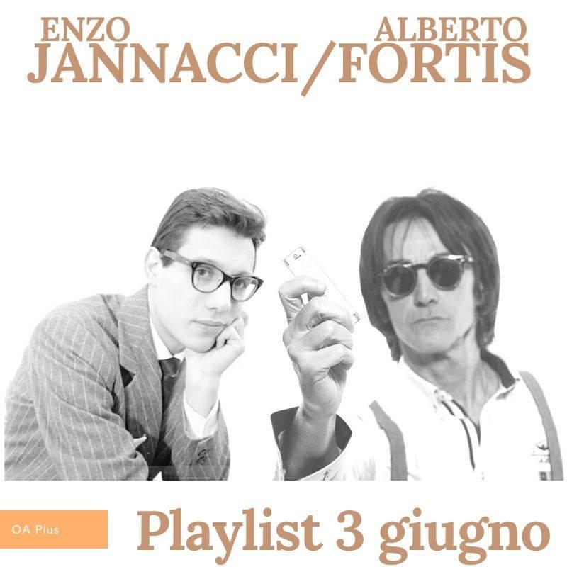 Enzo Jannacci e Alberto Fortis, uniti dal giorno di nascita e da una playlist