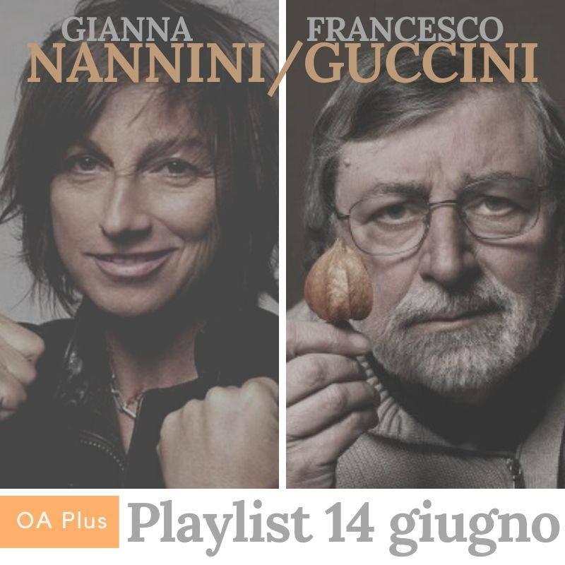 Buon compleanno a Francesco Guccini e a Gianna Nannini! Una playlist in comune per due cantautori d.o.c.